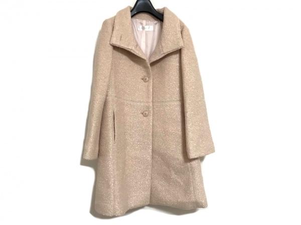DoCLASSE(ドゥクラッセ) コート サイズ7 S レディース美品  ベージュ 冬物