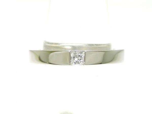 HARRY WINSTON(ハリーウィンストン) リング美品  Pt950×ダイヤモンド 1Pダイヤ