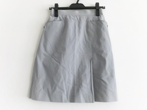 バーバリーゴルフ スカート サイズM レディース美品  グレー チェック柄