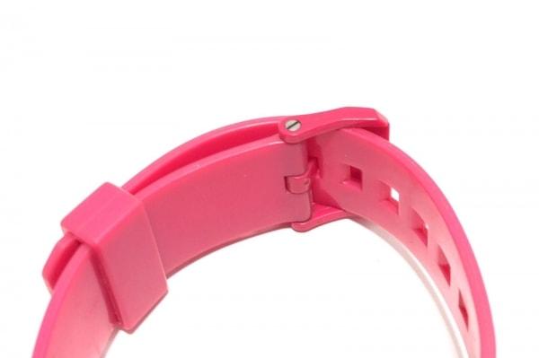 NIXON(ニクソン) 腕時計 MINIMAL - メンズ ラバーベルト ピンク