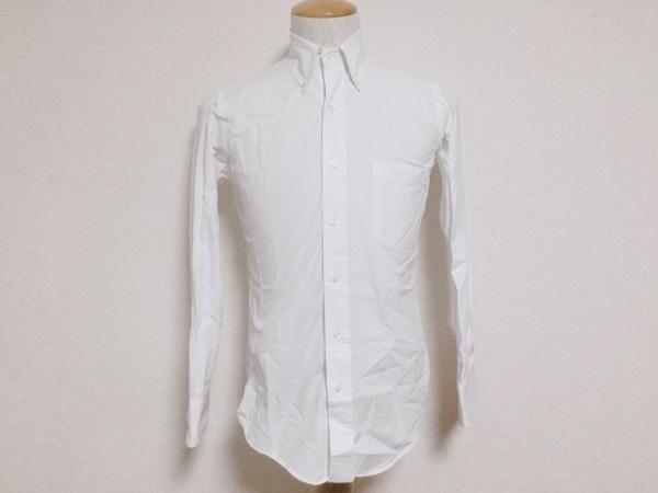 THOM BROWNE(トムブラウン) 長袖シャツ サイズ0 XS メンズ美品  アイボリー