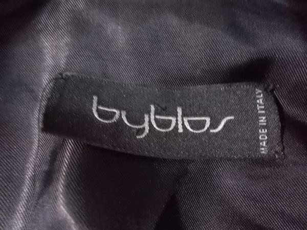 byblos(ビブロス) コート サイズ38 M レディース 黒 冬物