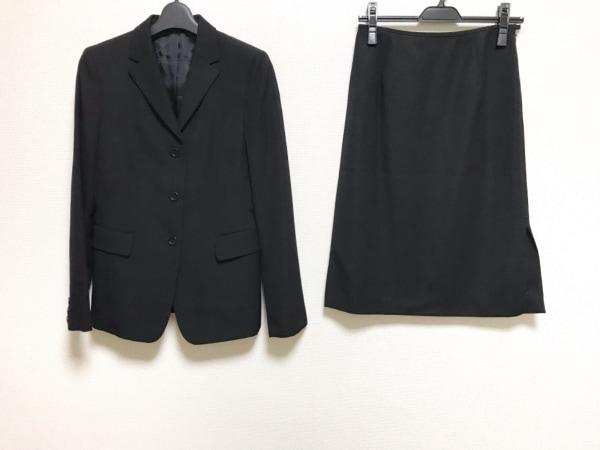COMME CA DU MODE(コムサデモード) スカートスーツ サイズM レディース美品  黒