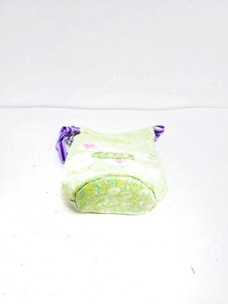 fafa(フェフェ) バッグ ライトグリーン×イエロー×マルチ ペットボトルケース