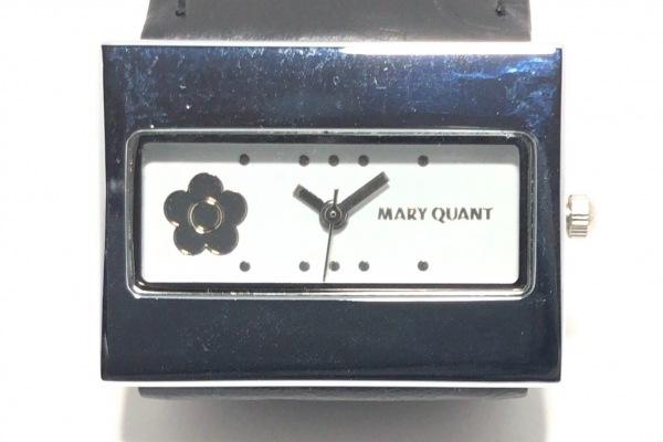 MARY QUANT(マリクワ) 腕時計 - レディース 白