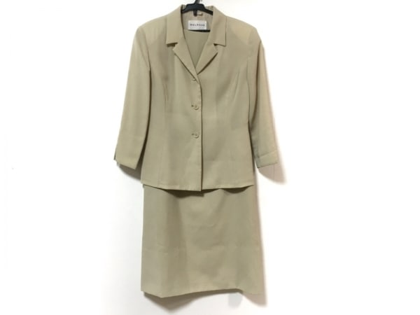 MELROSE(メルローズ) ワンピーススーツ サイズ3 L レディース美品  ベージュ