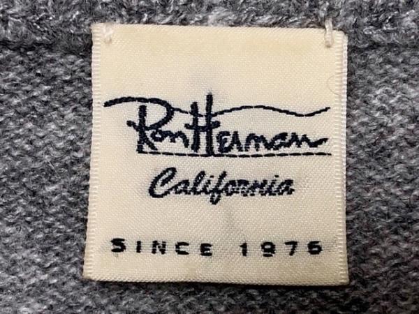 Ron Herman(ロンハーマン) カーディガン サイズXS レディース グレー