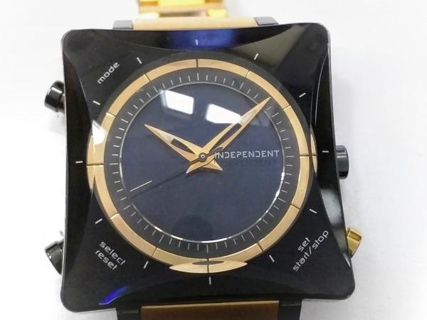 INDEPENDENT(インディペンデント) 腕時計 U021-002674-03 メンズ ダークネイビー
