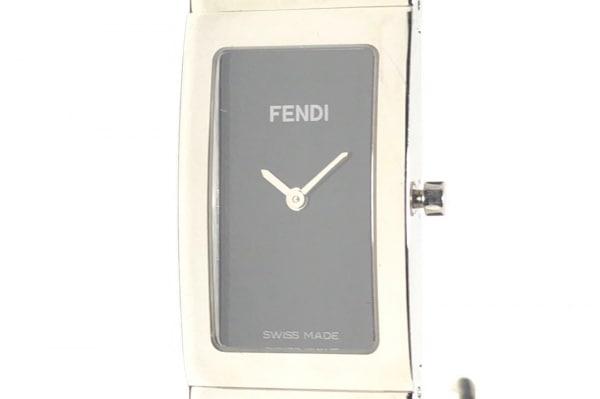 FENDI(フェンディ) 腕時計 3250L レディース バングルウォッチ 黒
