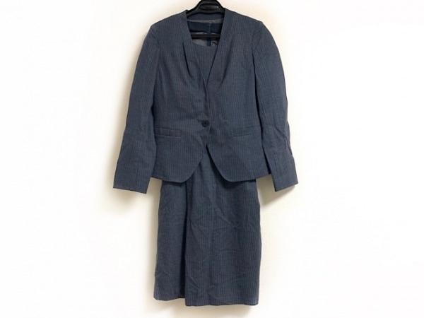 自由区/jiyuku(ジユウク) ワンピーススーツ サイズ38 M レディース美品  ダークグレー