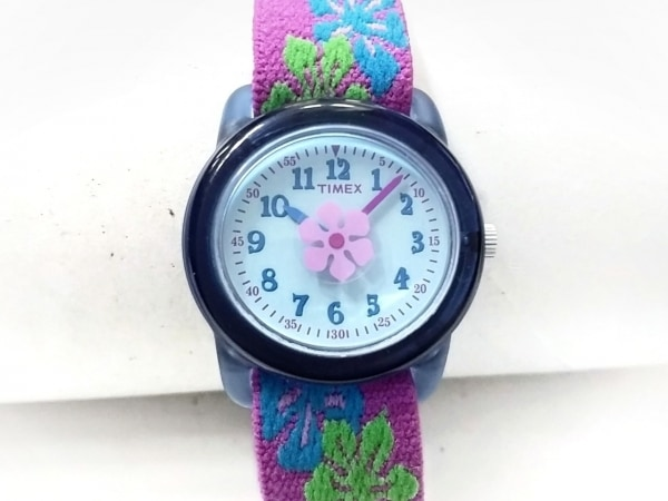TIMEX(タイメックス) 腕時計美品  CR1216CELL レディース 白