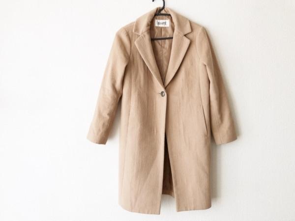 ROPE(ロペ) コート サイズ36 S レディース美品  ブラウン 冬物