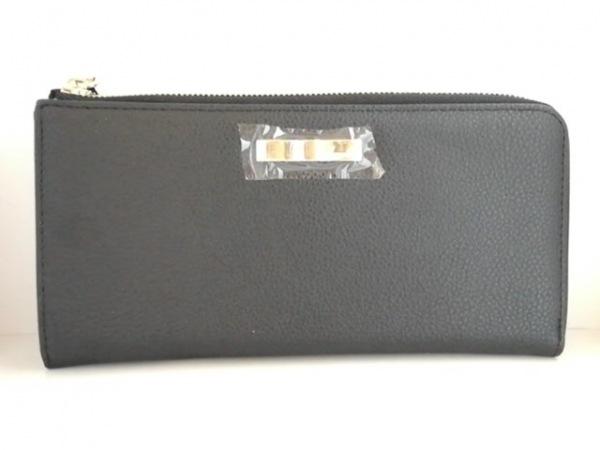 DAZZLIN(ダズリン) 長財布美品  黒 リボン 合皮