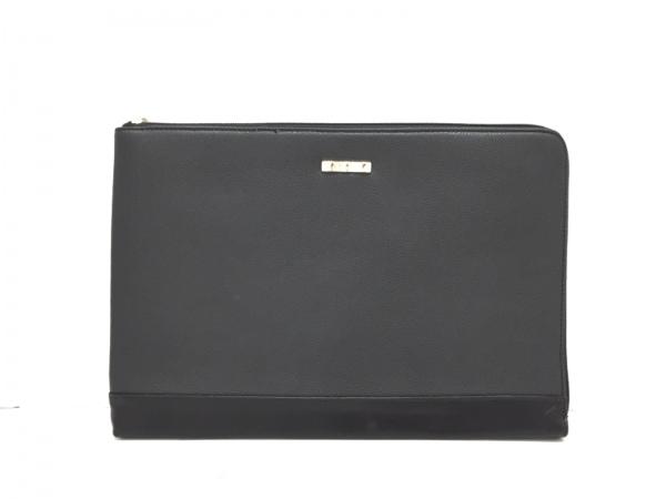 DAZZLIN(ダズリン) セカンドバッグ美品  黒 リボン 合皮