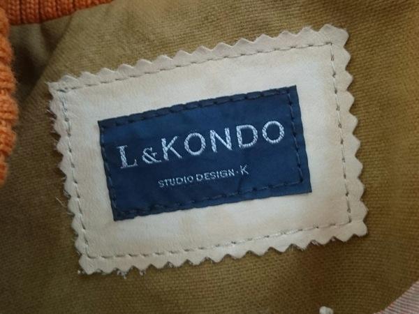 L&KONDO(ルコンド) ブルゾン サイズ48 XL メンズ カーキ 春・秋物