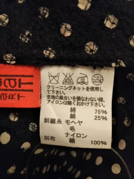 HaaT HeaRT(ハート) チュニック レディース 黒×白 ドット柄