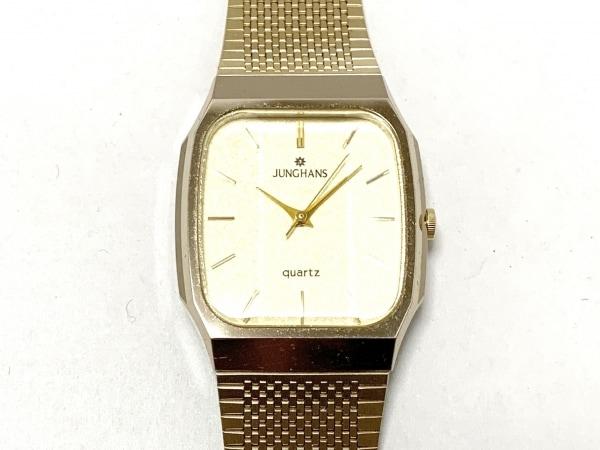 JUNGHANS(ユンハンス) 腕時計美品  MS-J-0103M レディース ゴールド