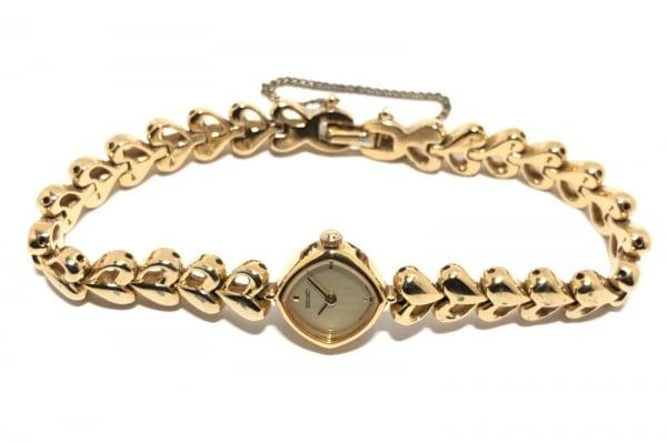 SEIKO(セイコー) 腕時計 1E20-5260 レディース ハート ゴールド