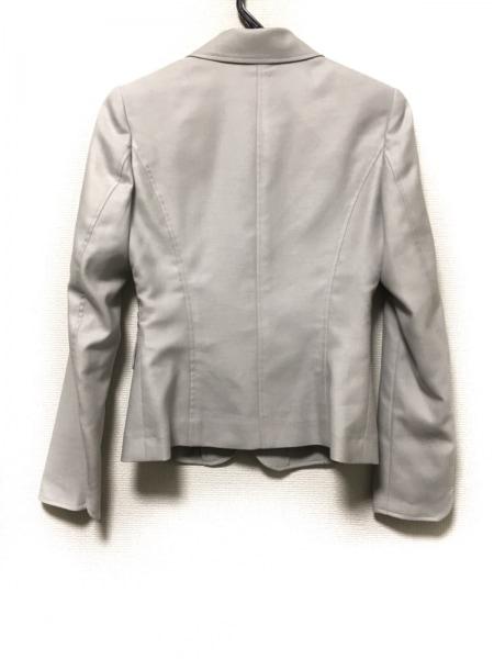 ユニバーサルランゲージ ジャケット サイズ36 S レディース美品  ライトグレー