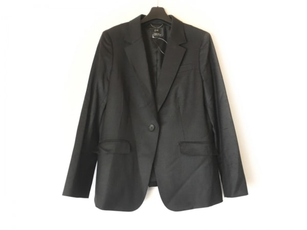 23区(ニジュウサンク) ジャケット サイズ46 XL レディース美品  黒