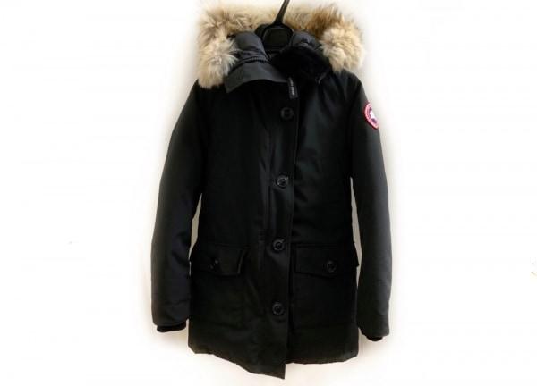 カナダグース ダウンコート サイズXS レディース美品  ブロンテ 2603JL 黒 冬物