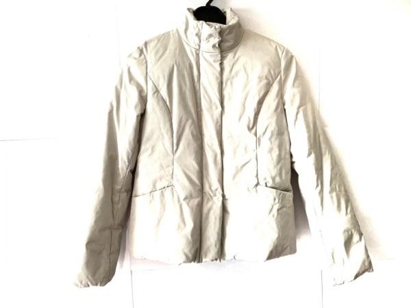 AMACA(アマカ) ダウンジャケット サイズ40 M レディース ライトグレー 冬物