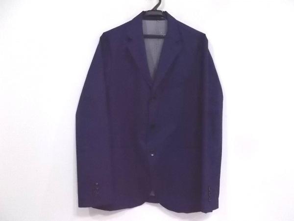 EDIFICE(エディフィス) ジャケット サイズ48 XL メンズ ネイビー×ダークネイビー