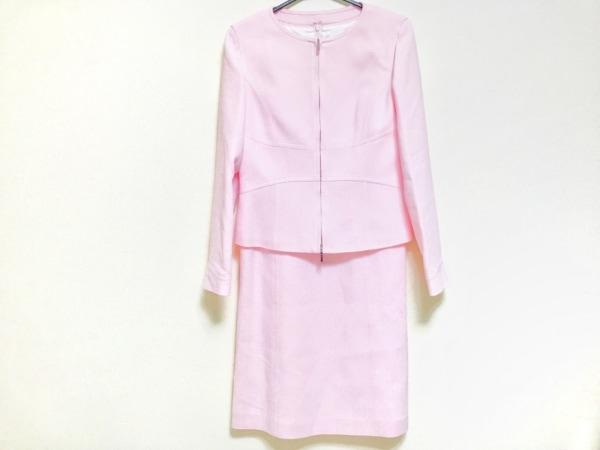 COURREGES(クレージュ) ワンピーススーツ サイズ40 M レディース美品  ピンク