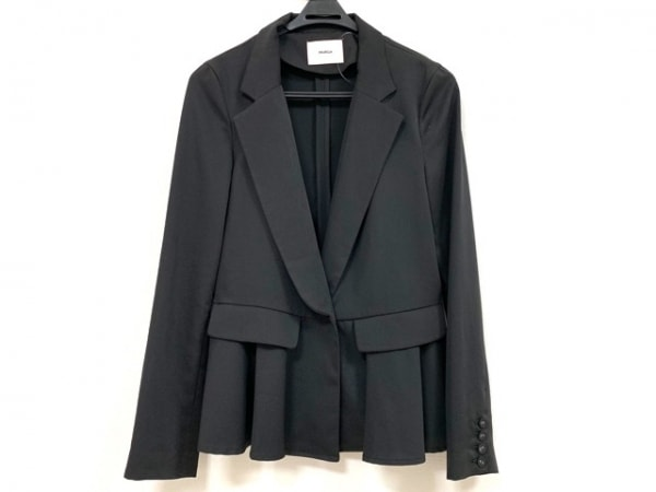 MURUA(ムルーア) ジャケット サイズM レディース美品  黒