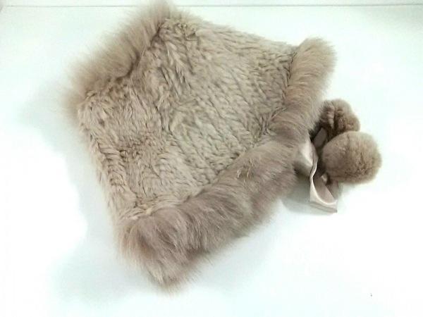Moon Bat Fur(ムーンバットファー) マフラー美品  ベージュ ファー