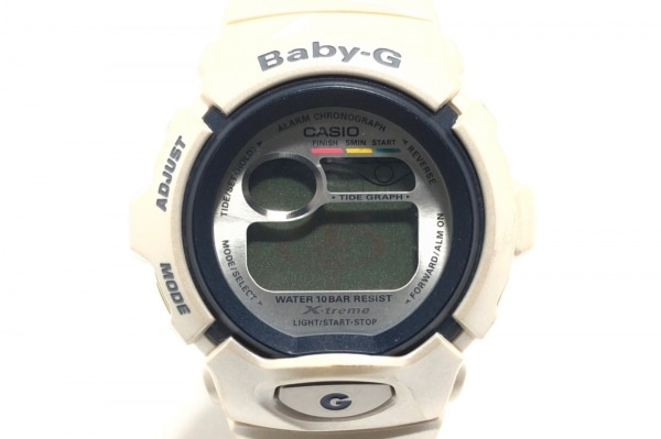 CASIO(カシオ) 腕時計 Baby-G BGX-160TC レディース ラバーベルト シルバー