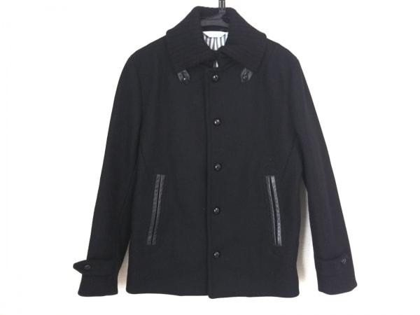 EDIFICE(エディフィス) コート メンズ美品  黒 冬物