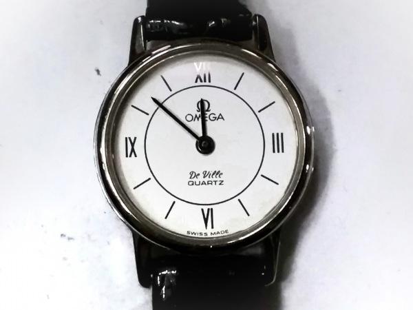 OMEGA(オメガ) 腕時計 De Ville - レディース 革ベルト アイボリー
