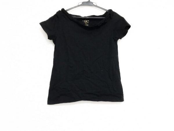 Kate spade(ケイトスペード) 半袖カットソー サイズ160 レディース美品  黒 リボン