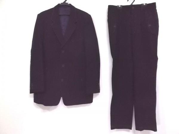 Y's(ワイズ) シングルスーツ メンズ 黒 for men/ステッチ