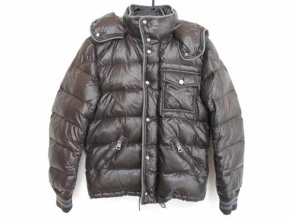 MONCLER(モンクレール) ダウンジャケット サイズ0 XS レディース - ダークグレー 冬物