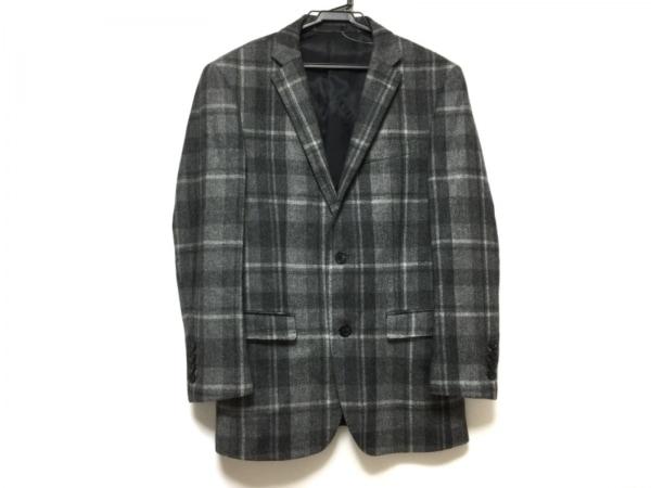バーバリーブラックレーベル ジャケット サイズS メンズ チェック柄/肩パッド