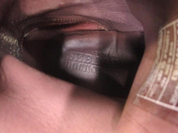 SEBAGO(セバゴ) シューズ メンズ ダークブラウン ハイカット スエード
