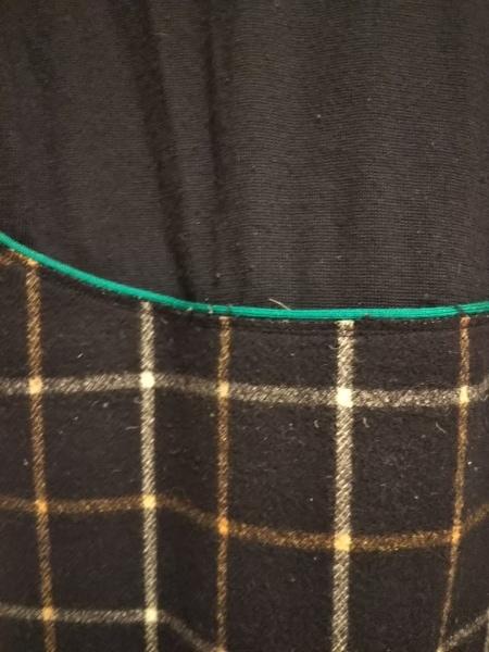 ヒロミ ツヨシ ワンピース サイズ0 XS レディース ダークネイビー×グリーン×マルチ