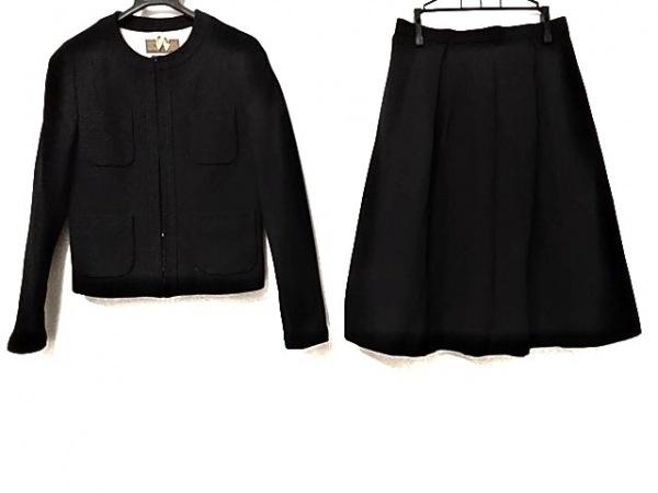 INED(イネド) スカートスーツ レディース美品  ネイビー