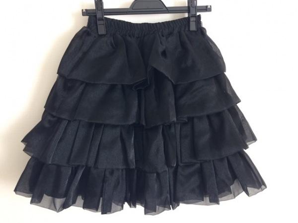 ATELIER BOZ(アトリエボズ) スカート レディース 黒 フリル