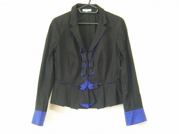 PAULEKA(ポールカ) ジャケット サイズ38 M レディース 黒×パープル
