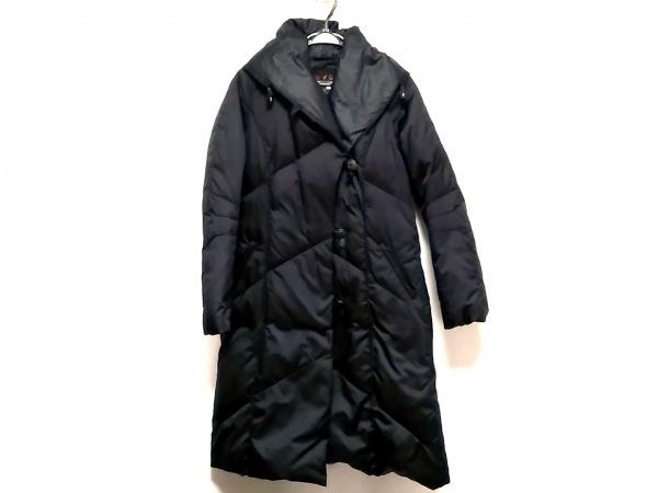 エヴェックスバイクリツィア ダウンコート サイズ40 M レディース美品  黒 冬物