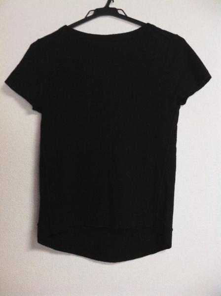 DONNAKARAN(ダナキャラン) 半袖セーター レディース 黒 カシミヤ