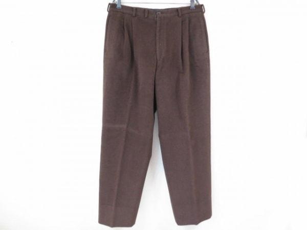 Papas(パパス) パンツ サイズXL メンズ美品  ダークブラウン