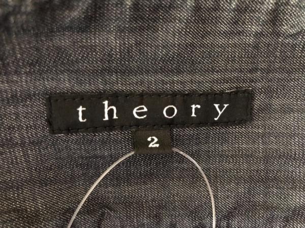theory(セオリー) ミニスカート サイズ2 S レディース美品  ダークネイビー