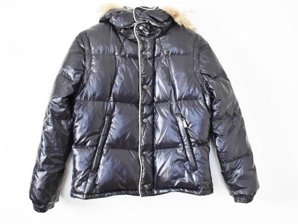 ティーケータケオキクチ ダウンジャケット サイズ2 M メンズ ネイビー