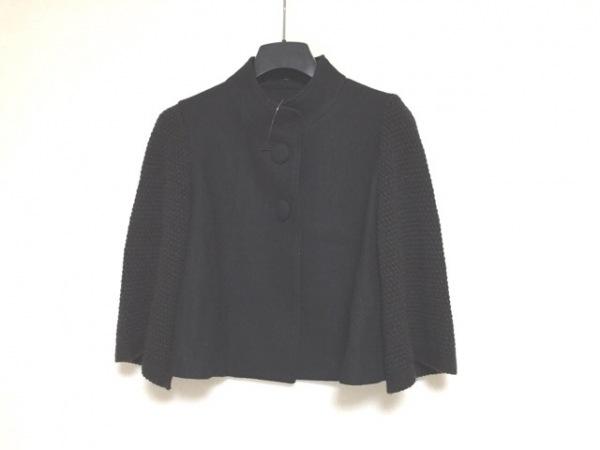 ReFLEcT(リフレクト) ジャケット サイズ9 M レディース 黒 ニット