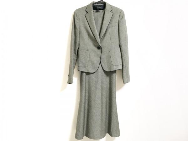 DKNY(ダナキャラン) ワンピーススーツ サイズ2 M レディース美品  黒×ベージュ