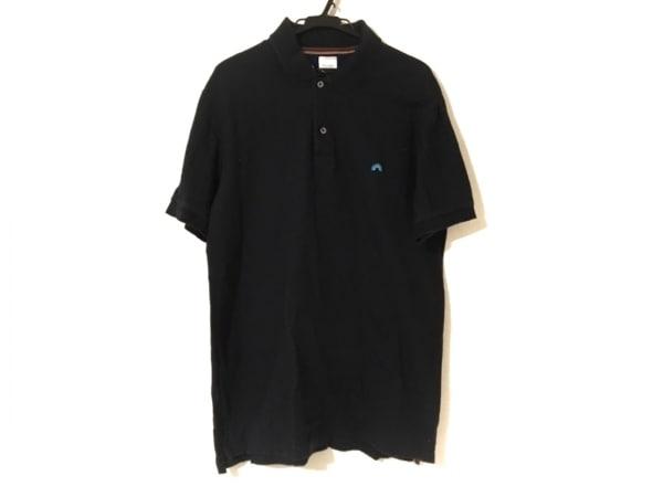 PaulSmith(ポールスミス) 半袖ポロシャツ サイズLARGE L メンズ 黒